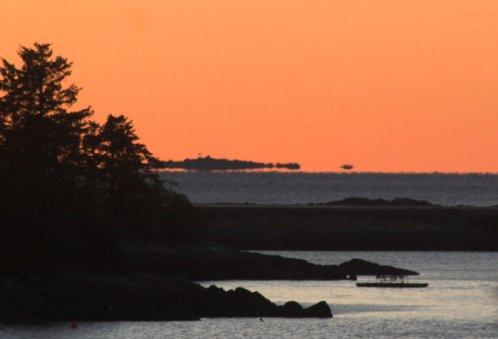 Sunset over Sitka Sound