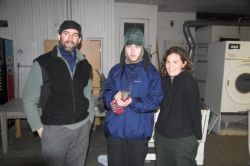 Biologists with Western Screech Owl