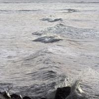 Waves at Lincoln Street Beach