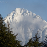 North Sister in Snow