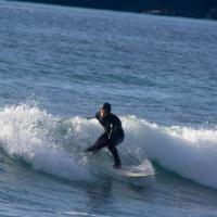 Surfing Sandy Beach