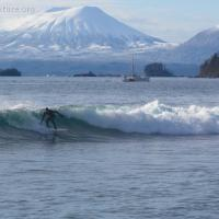 Surfing Sandy Beach