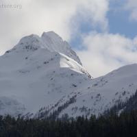 Harbor Mountain from Starrigavan