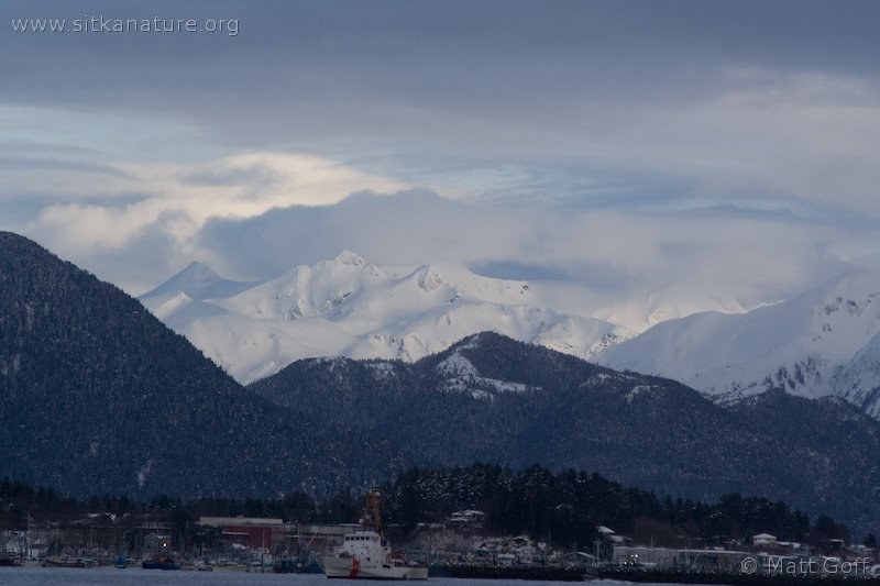 Mountains over Sitka