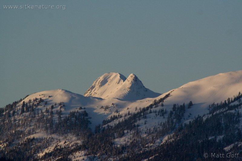 Morning Light on Twin Peaks
