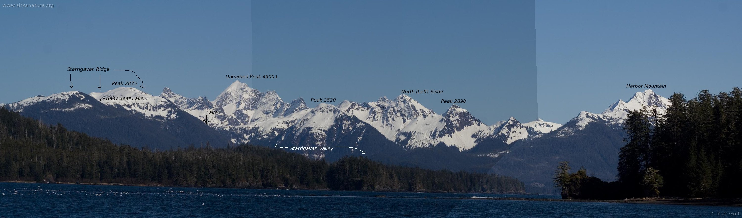 Baranof Island Mountains