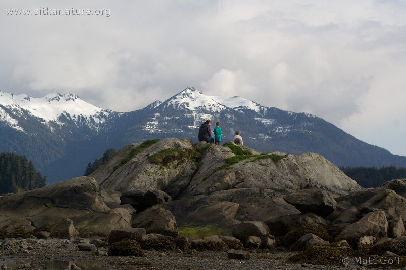 Family on Sage Rock