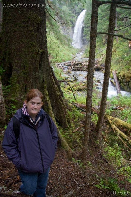 Melissa at Indian River Falls