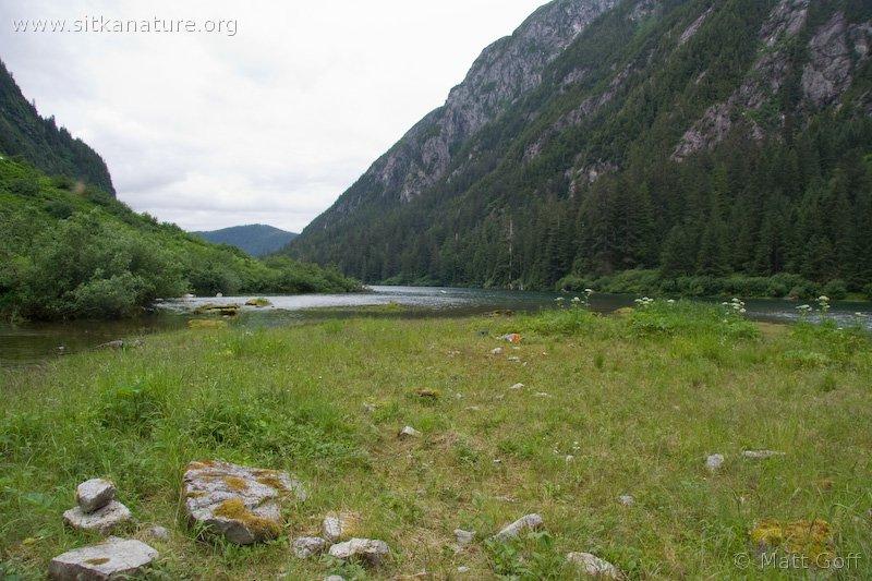 Upper end of Medvejie Lake