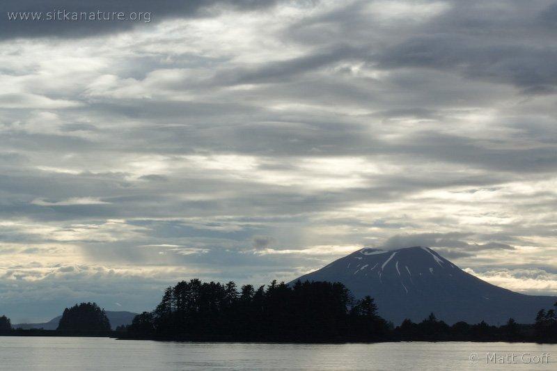 Clouds over Mt. Edgecumbe