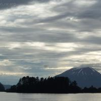 Clouds over Mt. Edgecumbe