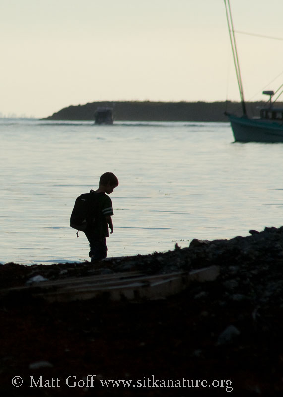 Connor on the Beach