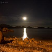 Moon over Sage Beach