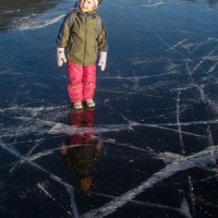 Rowan on the Ice