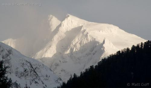 Clarence Kramer Peak from Swan Lake