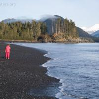 Walking Kamenoi Point Beach