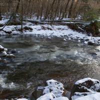 Ice in Granite Creek