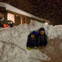 Connor and Rowan's Snow Cave