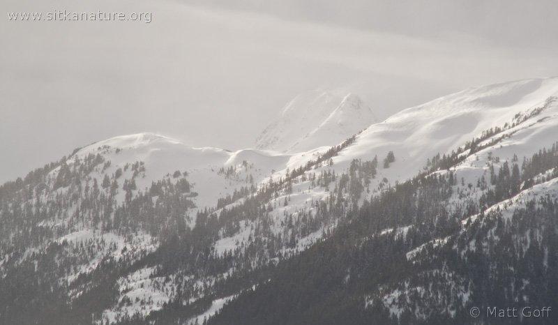Snowy Twin Peak