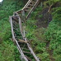 Gavan Hill Trail Damage
