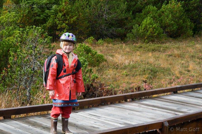 Rowan on Lower Gavan Trail