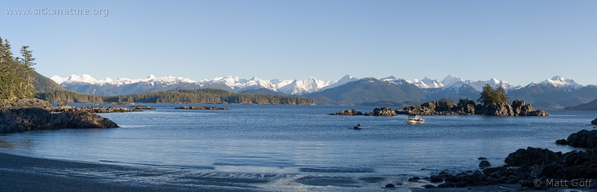 Kamenoi Anchorage Panorama