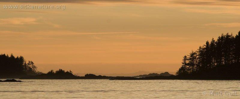Crescent Bay at Sunset