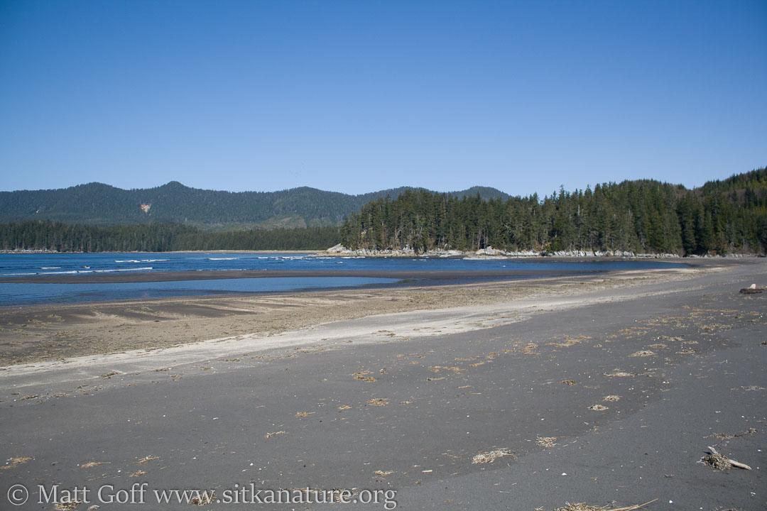 Beach at Shelikof Bay