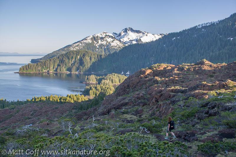 Hiking Down the Bluffs
