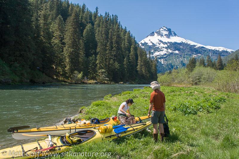 Unpacking Kayaks