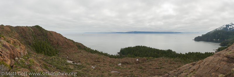 Looking East from Red Bluffs