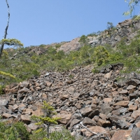 Ultramafic Talus Slope