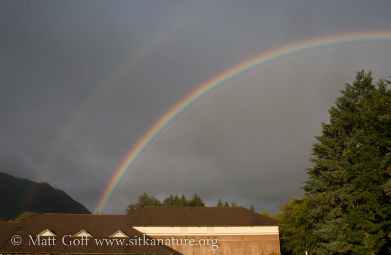 Rainbow over Hames