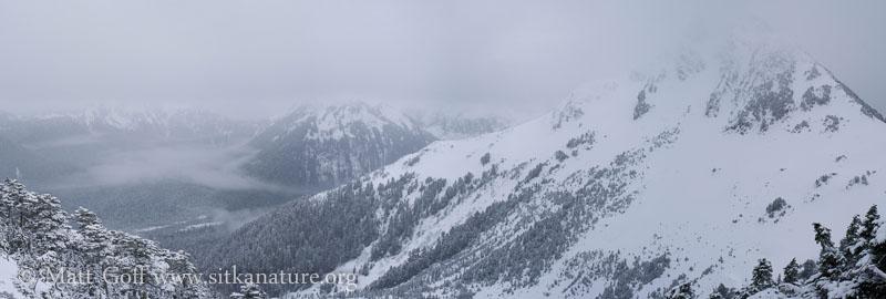 Winter on Verstovia (panorama)