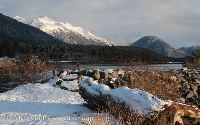 Bear Mountain from Crescent Harbor