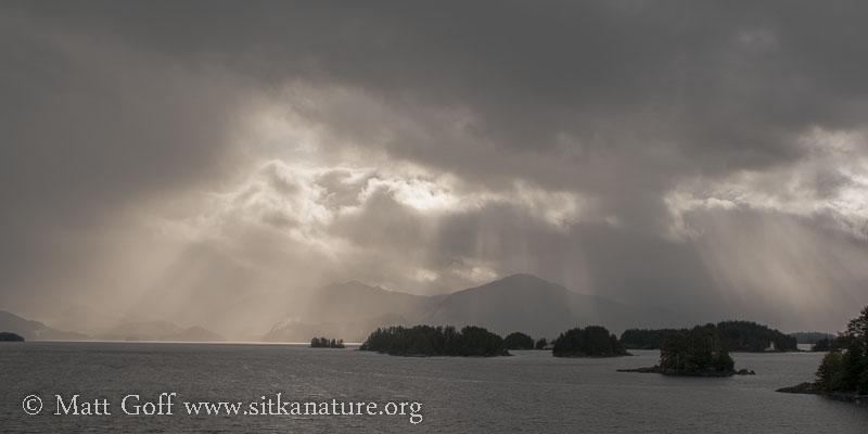Monochrome View Across the Bay