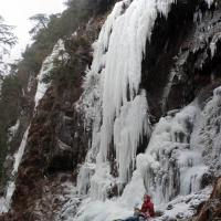 At the Base of the Ice Cliffs