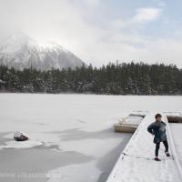 Heart Lake Snowball Fight