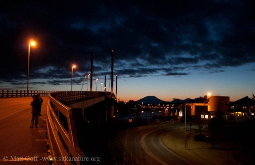 Crossing O'Connell Bridge