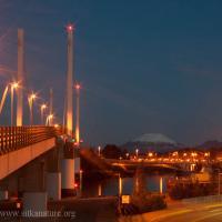 O'Connell Bridge and Mt. Edgecumbe