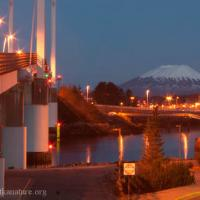 O'Connell Bridge and Mt. Edgecumbe