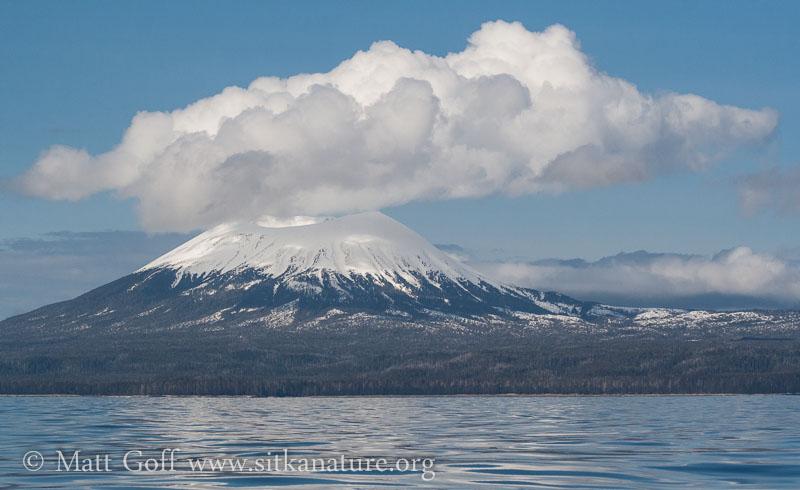 Cumulus Clouds over Mt. Edgecumbe
