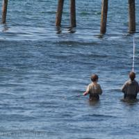 Connor and Kobi Fishing