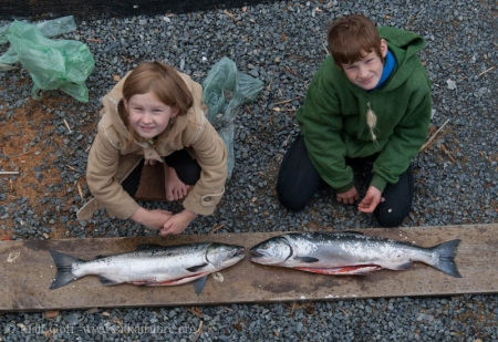 Connor and Rowan's Catch