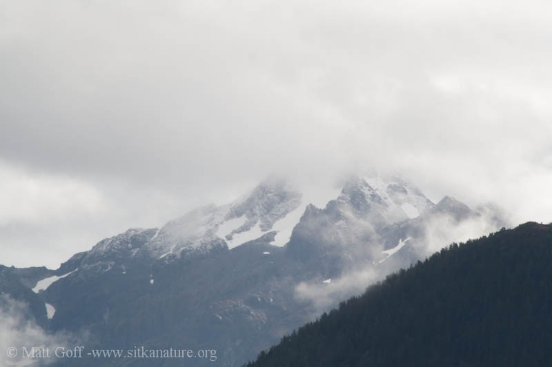 Cross Mountain with New Snow