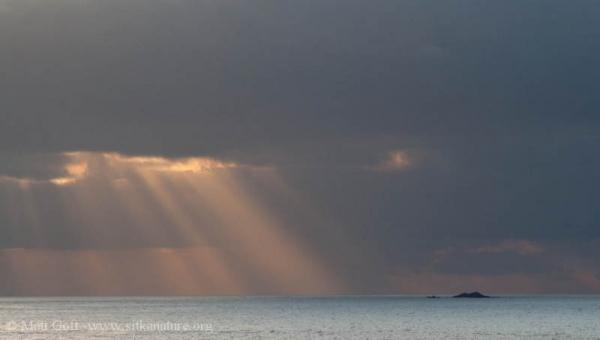 Sunlight and Kulichkof Rock