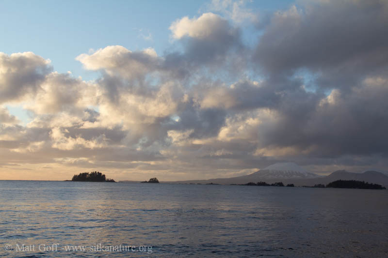 Afternoon light on Mt. Edgecumbe