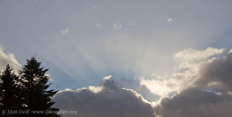 Clouds and Sun Rays