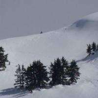Hiker on Verstovia