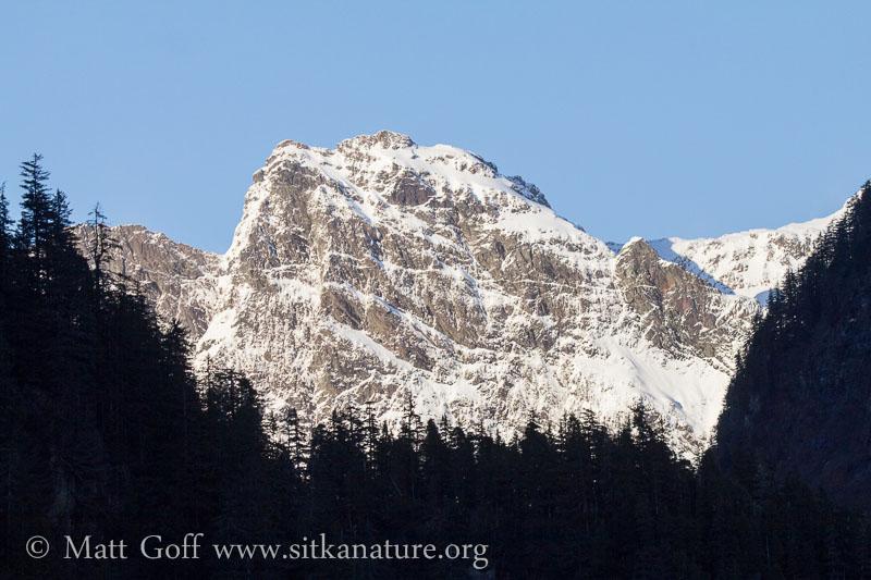 Snow Covered Rocky Peak